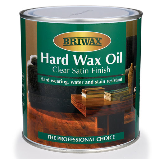 View a Larger Image of Briwax Hard Wax Oil, Satin 1 Liter
