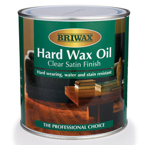 Briwax Hard Wax Oil, Satin 1 Liter