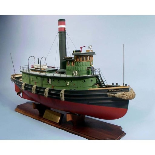 View a Larger Image of Brooklyn Tugboat Boat Kit