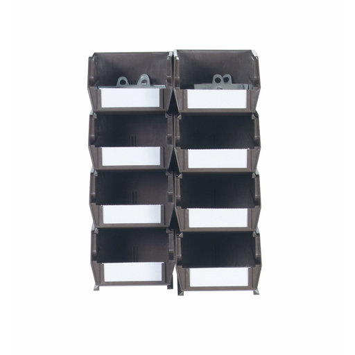 View a Larger Image of Brown Hanging Bin & Clip Kits