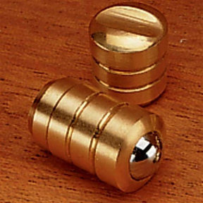 "Brass Bullet Catch 7/16"" D Medium Duty"
