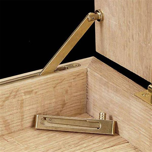 View a Larger Image of Mortised Box Lid Support