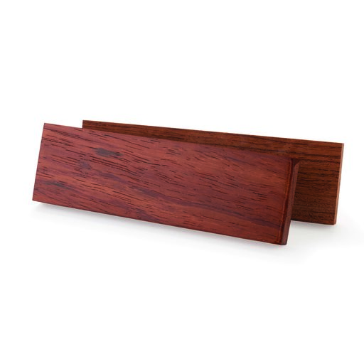 "View a Larger Image of Bubinga 3/8"" x 1-1/2"" x 5"" Knife Scale 2-piece"