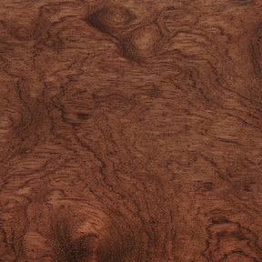 "Bubinga Veneer Sheet Rotary Cut ""Kevazinga / Waterfall"" 4' x 8' 2-Ply Wood on Wood"