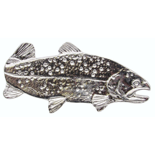 "View a Larger Image of 2"" Long Trout Pull Right Facing, Nickel, Model 095N"