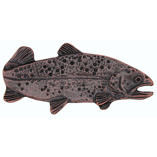 "View a Larger Image of 2"" Long Trout Pull Right Facing, Oil Rubbed Bronze, Model 095ORB"