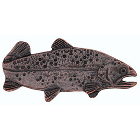 "2"" Long Trout Pull Right Facing, Oil Rubbed Bronze, Model 095ORB"