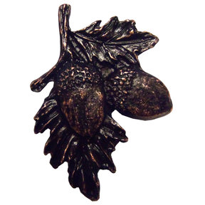 Acorns on Branch Pull, Oil Rubbed Bronze, Model 300ORB