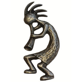 Kokopelli Pull Left Facing, Pewter, Model 265P