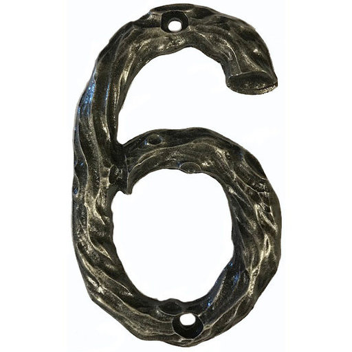 View a Larger Image of LHN6-P Log House Number 6, Pewter, 1 piece