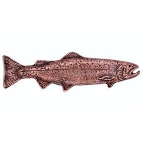 Long Trout Pull, Right, Antique Copper, Model 319AC