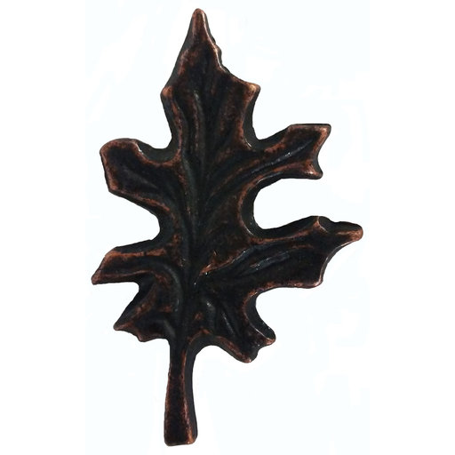 View a Larger Image of Oak Leaf Pull, Oil Rubbed Bronze, Model 142ORB