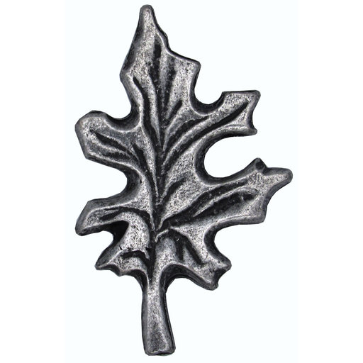 View a Larger Image of Oak Leaf Pull, Pewter, Model 142P