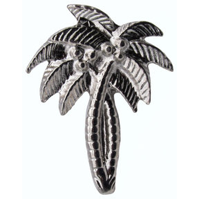 Palm Trees Pull, Nickel, Model 228N