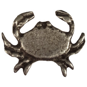 Sand Crab Pull, Pewter, Model 233P