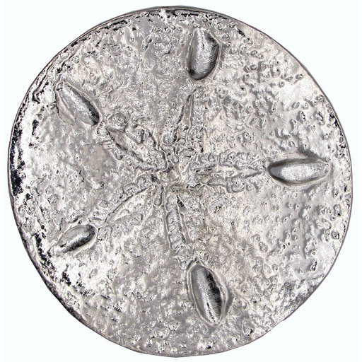 View a Larger Image of Sand Dollar Pull, Nickel, Model 339N