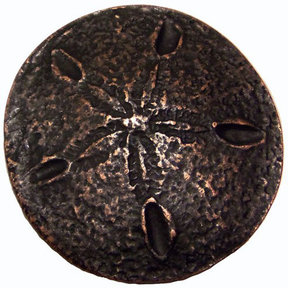 Sand Dollar Pull, Oil Rubbed Bronze, Model 339ORB