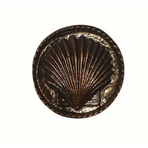 Small Sea Shell Pull, Oil Rubbed Bronze, Model 050ORB
