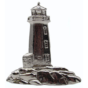 Stand Alone Lighthouse Pull, Nickel, Model 125N