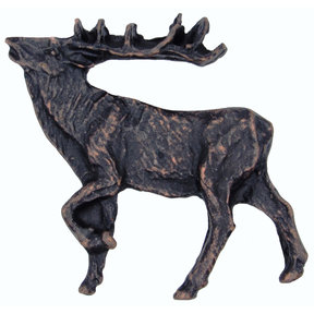 Walking Elk Pull Left Oil Rubbed Bronze Model 051ORB