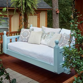 Build A Swing Bed Downloadable Plan