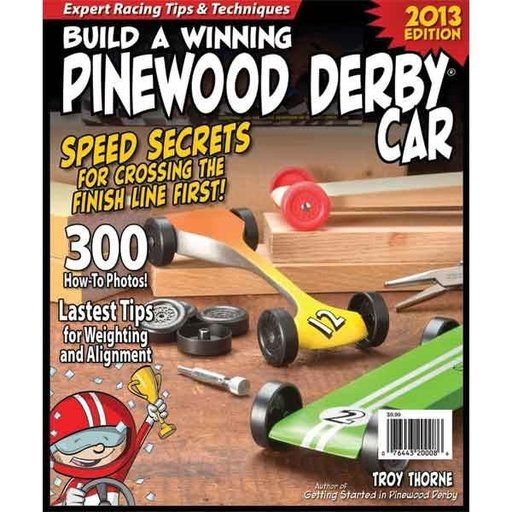 View a Larger Image of Build a Winning Pinewood Derby Car