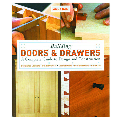 View a Larger Image of Building Doors & Drawers A Complete Guide to Design and Construction