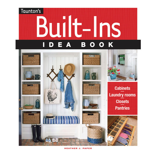 View a Larger Image of Built In Idea Book