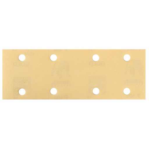 """View a Larger Image of GOLD 2.75x8"""" Grip Sandpaper, 8H P80, 50 Sheets/Box"""