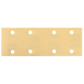 "GOLD 2.75x8"" Grip Sandpaper, 8H P80, 50 Sheets/Box"