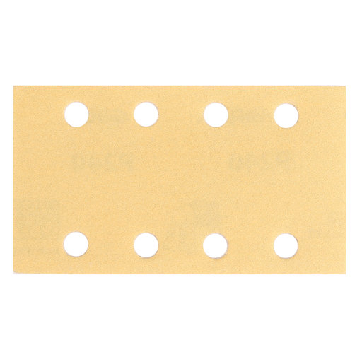 "View a Larger Image of GOLD 3""x5"" Grip Sandpaper, 8H P80, 50 Sheets/Box"
