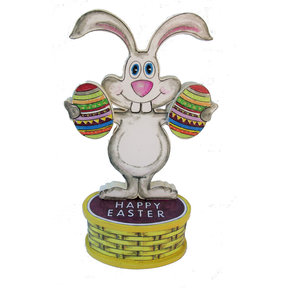 Bunny Greeter  Woodworking Pattern and Picture