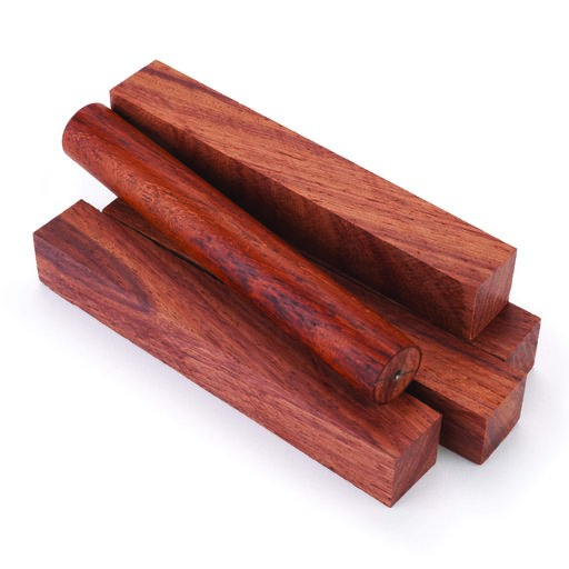 "View a Larger Image of Burmese Rosewood Pen Blank 3/4"" x 3/4"" x 5"" 5-Piece"