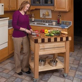 Butcher Block Cart - Downloadable Plan