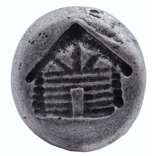 View a Larger Image of Cabin Round Knob, Pewter Oxide