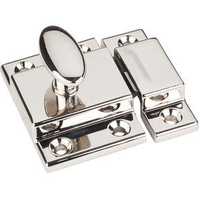 "Cabinet Latch, 1-3/4"", Polished Nickel"