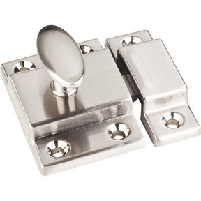 "Cabinet Latch, 1-3/4"", Satin Nickel"
