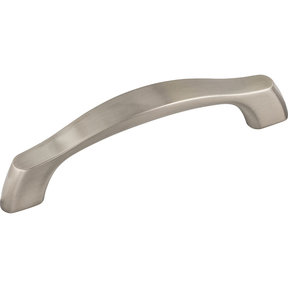 "Cabinet Pull, 96 mm C/C with 4-7/8"" O.L.,  Satin Nickel"