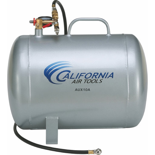 View a Larger Image of 10 Gallon Portable Steel Air Tank, AUX10