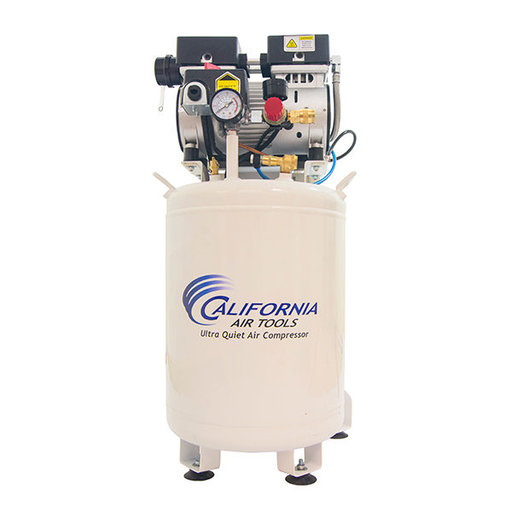 View a Larger Image of 10010LFDC Ultra Quiet and Oil Free 1 HP 10 Gal Air Compressor