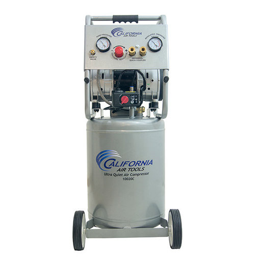 View a Larger Image of 10020C Ultra Quiet  Oil-Free  Air Compressor 2 HP, 10 Gal.