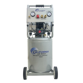 2HP 10 Gallon Oil-Free Steel Tank Air Compressor with Auto Drain Valve