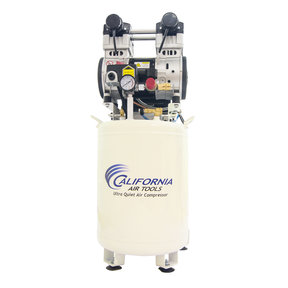 2HP 220V 10 Gallon Oil-Free Air Compressor with Air Drying System and Aftercooler
