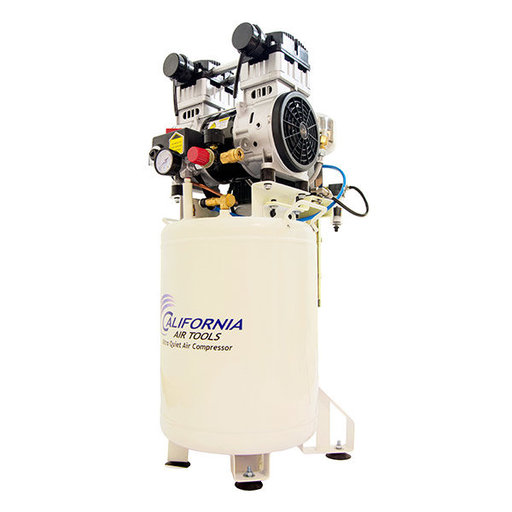 View a Larger Image of 10020DCAD Ultra Quiet and Oil Free 2 HP 10 Gal. Air Compressor