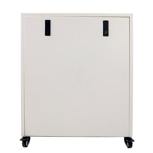 View a Larger Image of 2HP 10 Gallon Oil-Free Steel Tank Air Compressor in Soundproof Cabinet