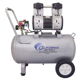 2HP 220V 15 Gallon Oil-Free Steel Tank Air Compressor