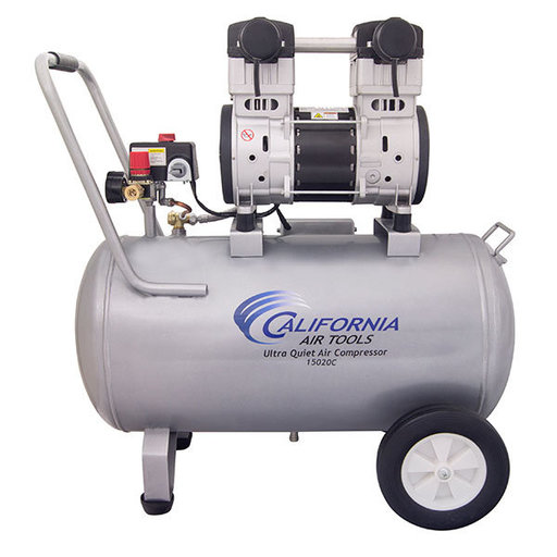 View a Larger Image of 15020C Ultra Quiet and Oil-Free 2.0 HP, 15 Gal. Steel Tank Air Compressor