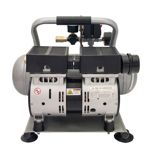 View a Larger Image of 2050A Ultra Quiet and Oil-Free 1/2 HP, 2.0 Gal. Aluminum Tank Air Compressor