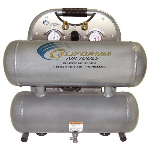 View a Larger Image of 4610ALFC Ultra Quiet and Oil Free 1 HP 4.6 Gal. Air Compressor