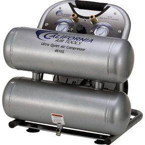 4610S Ultra Quiet & Oil-Free 1 HP, 4.6 Gal. Air Compressor